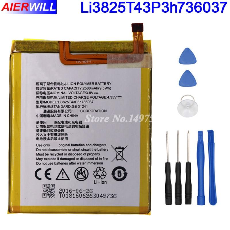Li3825T43P3h736037 batería para ZTE BV0720/para ZTE Blade A2/para ZTE Blade V7 Lite Dual SIM batería Bateria 2500 mAh + herramientas