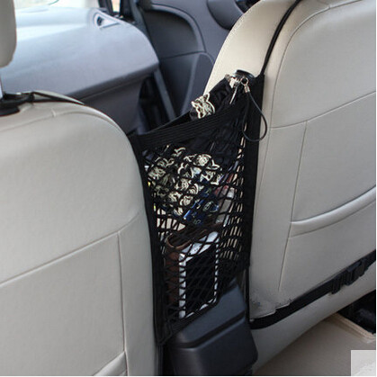 Car-Styling Trunk Seat Storage Net Pocket Bag For Toyota Camry Corolla RAV4 Yaris Highlander Land Cruiser PRADO Vios Vitz Reiz