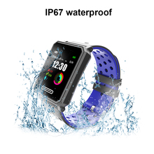 A30 Smartwatch IP67 Waterproof Wearable Device Pedometer Men Women Heart Rate Monitor Color Display Smart Watch For Android/IOS