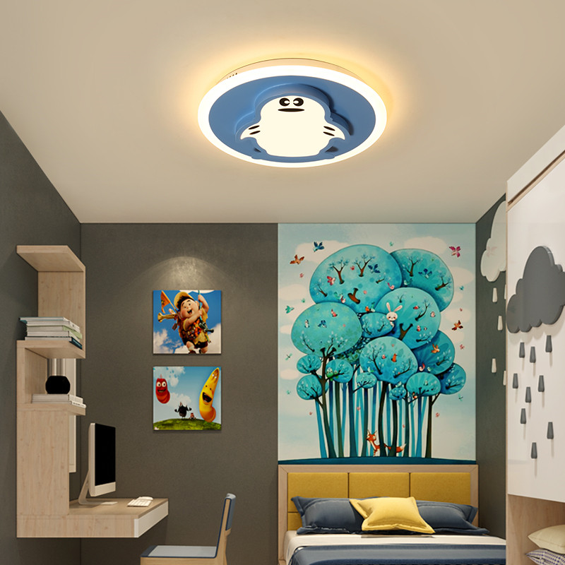 Novelty Cute Cartoon Kids Bedroom Light Ceiling Lamp Decorative Lighting Animal Mouse Boys Childrens Room