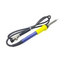 Баку Электрический паяльник для подключения к рукоятка паяльника Замена со стандартом DIN 5 Pin гнездовой разъем для ESD 878L2 601D 603D сварочная станция