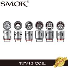 3 sztuk partia oryginalny SMOK TFV12 cewki V12-T12 V12-T6 V12-Q4 V12-X4 V12-T14 V12-T8 rdzeń V12 T12 T6 Q4 X4 T14 T8 dla TFV12 bestia zbiornik tanie tanio SMOK TFV12 Coil V12-T12 V12-T6 SMOK TFV12 Atomizer DS Dual 0 12ohm Duodenary Coils 0 17ohm Sextuple Coils 0 15ohm Quadruple Coils