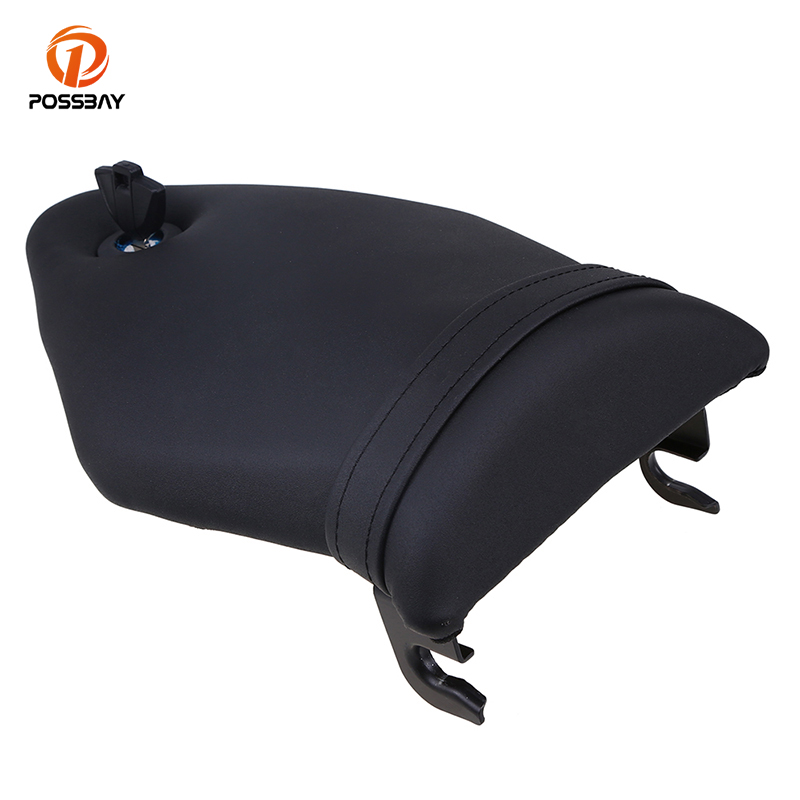 POSSBAY Motorcycle Rear Seat Cover Fairing Cowl With Key fit for BMW S1000 RR 2009 2010 2011 2012 2013 2014-2017 Motorbike Seat motorcycle pillion passenger rear seat cover cowl for 2009 2014 bmw s1000rr s 1000 rr 2009 2014
