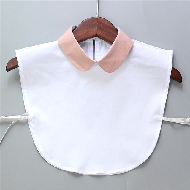 Women Apparel Accessories Peter Pan Collar Detachable Bib Collar