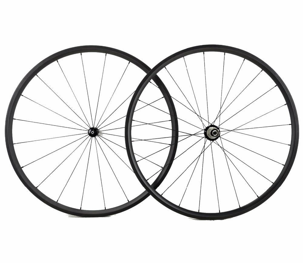 Free shipping 24mm depth road carbon wheels 700C 23mm width Tubular super light Climbing bicycle carbon fiber wheelset UD weave цена