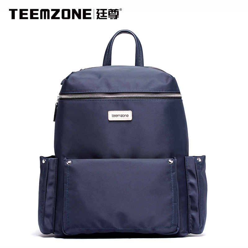 Brand Teemzone Canvas Waterproof Backpack Men Casual Travel Beach Bag Boys Laptop Backpack Teenagers School Bags Free Shipping