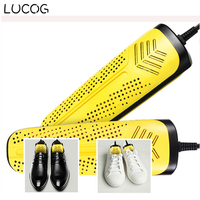 LUCOG Electric Shoe Dryer Baked Boot Heater Deodorant 220V Dual Core PTC Heater Fast Drying Shoes
