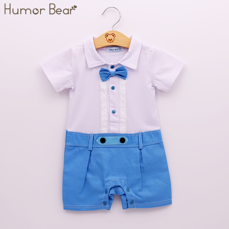 Humor Bear New Summer Style Baby Boy Clothing Set  Fashion Gentleman Style Casual Short-Sleeved Clothes Children Clothing humor bear fashion fake two children clothing baby boys summer short sleeved suit pants 2pc sets newborn clothes