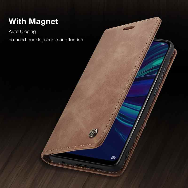 For Huawei P Smart 2019 Case Cover Honor 10 Lite Luxury Magnet Flip Retro Wallet Leather Phone Bags For Huawei Psmart 2018 Coque
