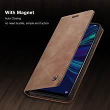 Чехол для Huawei P Smart 2019 Honor 10 Lite, роскошный Магнитный Флип-бумажник в стиле ретро, кожаные чехлы для телефонов Huawei Psmart 2018, оболочка