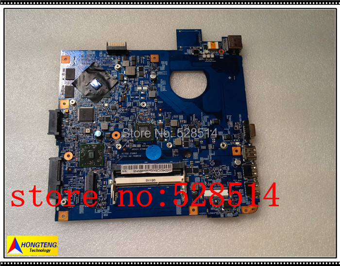 Original JE41 BZ MB 48.4N501.0SB laptop motherboard For acer Aspire 4255 with E350 CPU 512M Non-integrated 100% Test ok