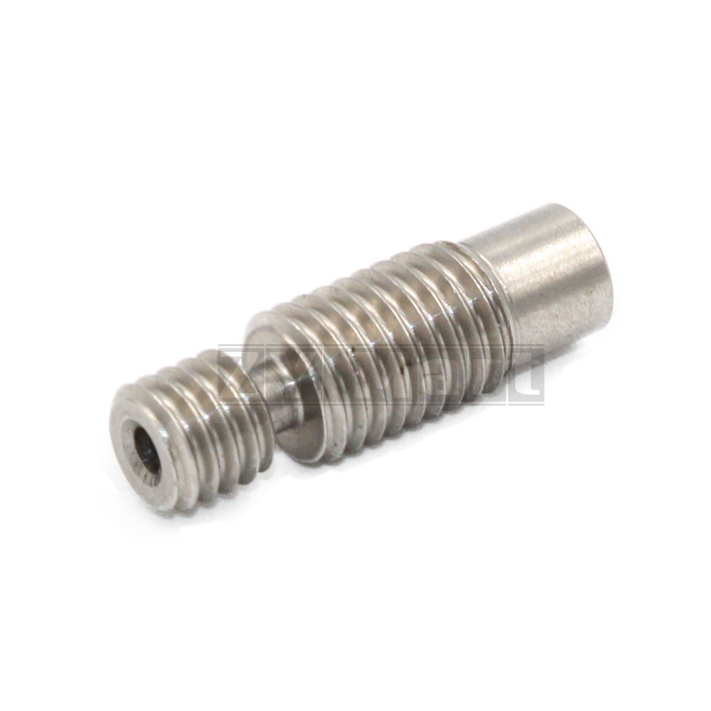 3D Printer E3D V6 Heat Break Hotend Throat For 1.75/3.0/4.1mm All-Metal / With PTFE, Stainless Steel Remote Feeding Tube Pipes