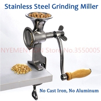 Fresh Ground Coffee Grinding Miller Stainless Steel Flour Mill Pulverizer for Wheat Corn Flour Peanut Soybean Walnut 1pcs