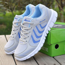 Women sneakers 2018 new arrivals fashion women shoes white breathable mesh casual shoes woman tenis feminino wedge sneakers
