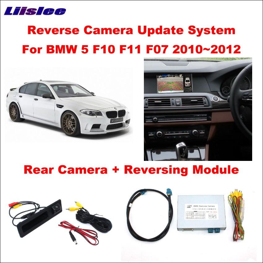 Liislee Original Screen Update System For BMW 5 F10 F11 F07 2010 2012 CIC System Reversing