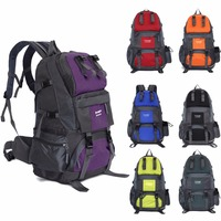 High Quality 50L Outdoor Backpack Hiking Bag Camping Travel Waterproof Mountaineering KSKS