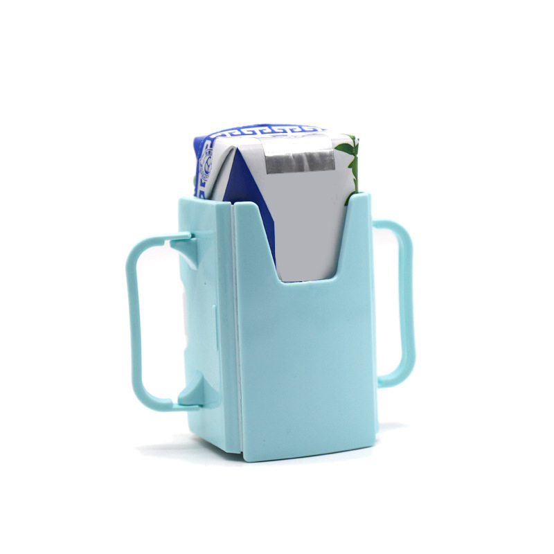 Retractable Baby Milk Box Easy To Carry Baby Water Cup Holder Convenient Baby Feeding Supplies Tableware Cup Box