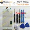 ZOPO ZP330 Сенсорный Экран Белый 100% Оригинал Заменить Панель Ассамблея Сенсорный Экран для ZOPO ZP330 Смартфон Бесплатная Доставка