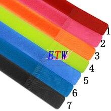 """3/""""(20 мм) красочные самоклеющиеся многократное использование, отделка связывания ленты DIY, 33 штуки оптовые и розничные продажи"""