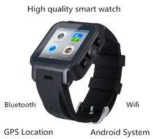 smart android uhr SmartWatch tragbare geräte wifi gps uhr 3g sim gesunde Manager für ios android intelligente elektronik