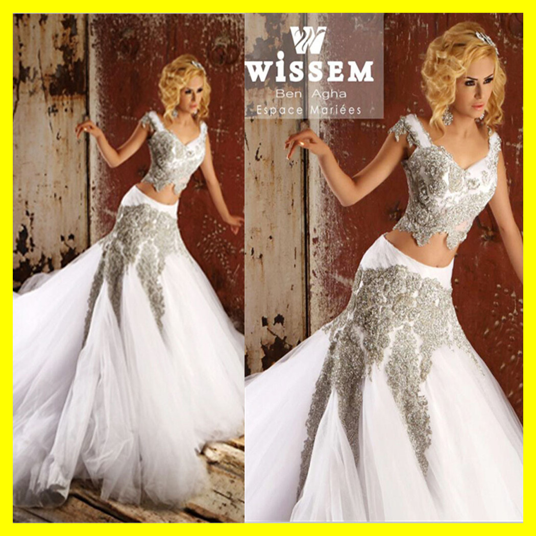 White Wedding Dress Silver Dresses Girls Sheath Mother Mermaid Floorlength Cathedralroyal Train Appliques Vneck O 2015 Outlet: Silver Mermaid Style Wedding Dresses At Websimilar.org