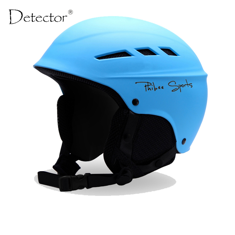 ФОТО Detector New Ski Helmet Men Women Children Snowboard Helmet PC+EPS Ultralight High Quality Skating Skateboard Skiing Helmet