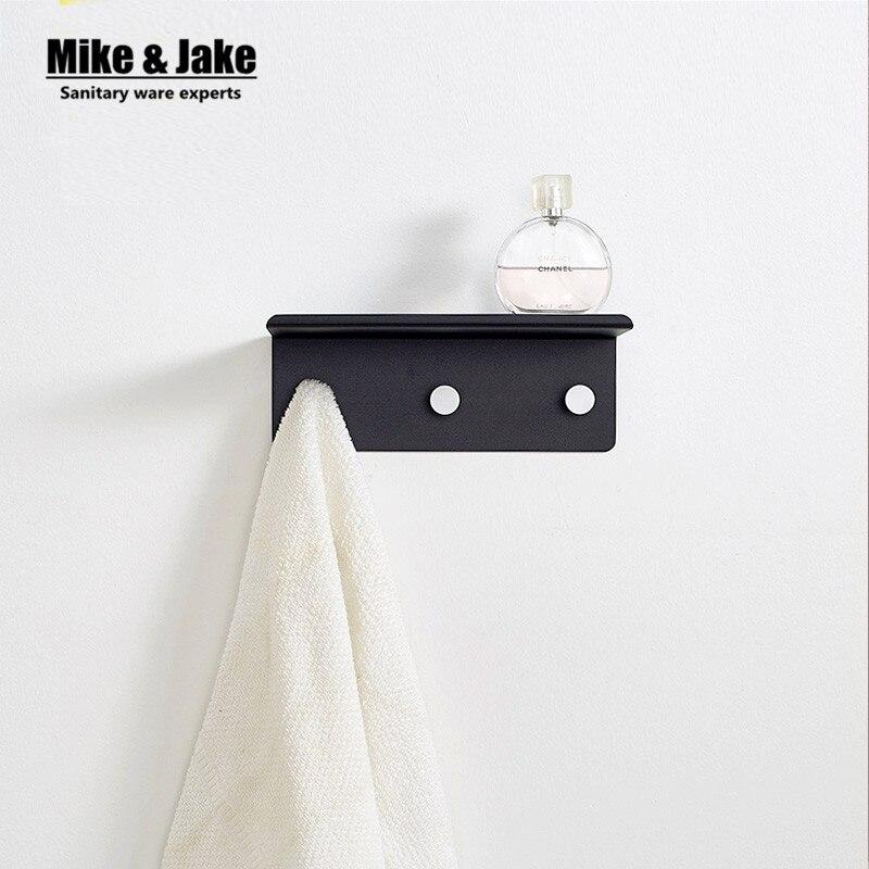 Ruimte aluminium Badkamer plank met doek haak badkamer wandplank met ...