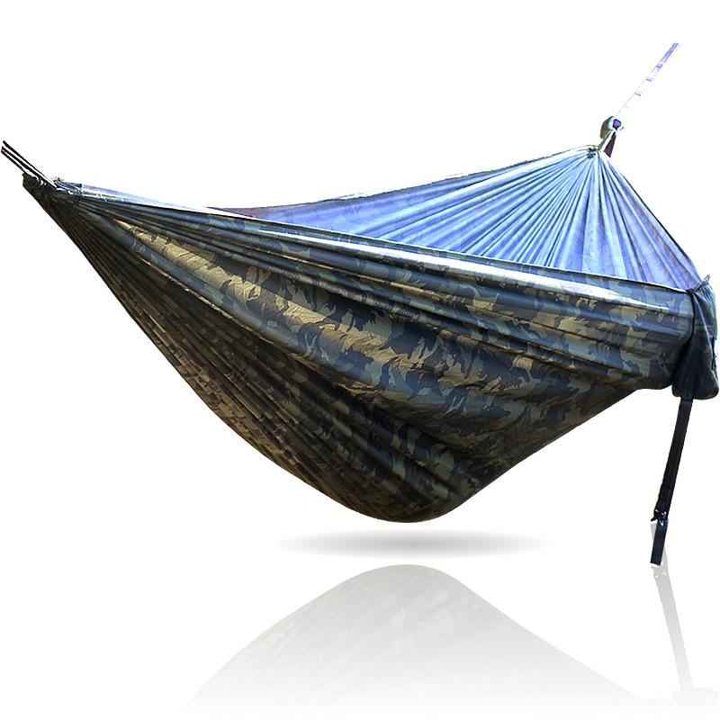 Double Hamac Portable meubles de jardin Hamac balançoire de jardin Hamak Rede 300*200 cm 260*140 cm