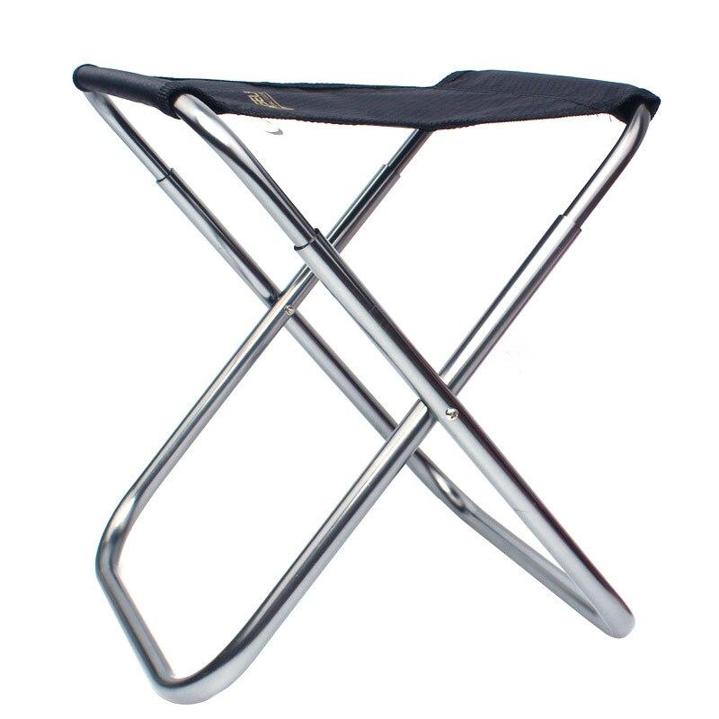 Воздухоплавательный алюминиевый сплав складное кресло на улицу рыболовный стул поезд Maza Вертикальная мебель для патио Портативный Кемпинг пляж
