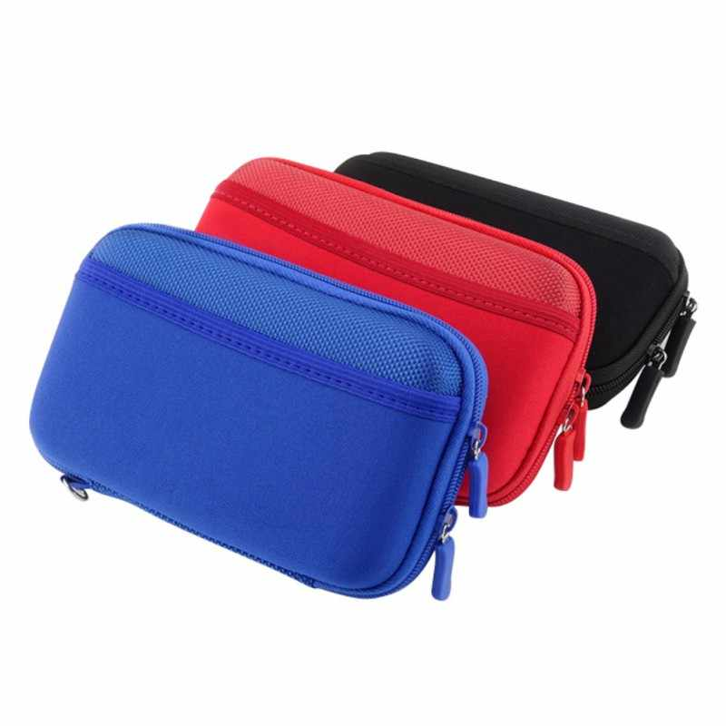 Anti-Shock Portable Electronic Product Storage Bags  Digital Accessories Hard Drive Organizer Storage Carrying Case Bag Pouch