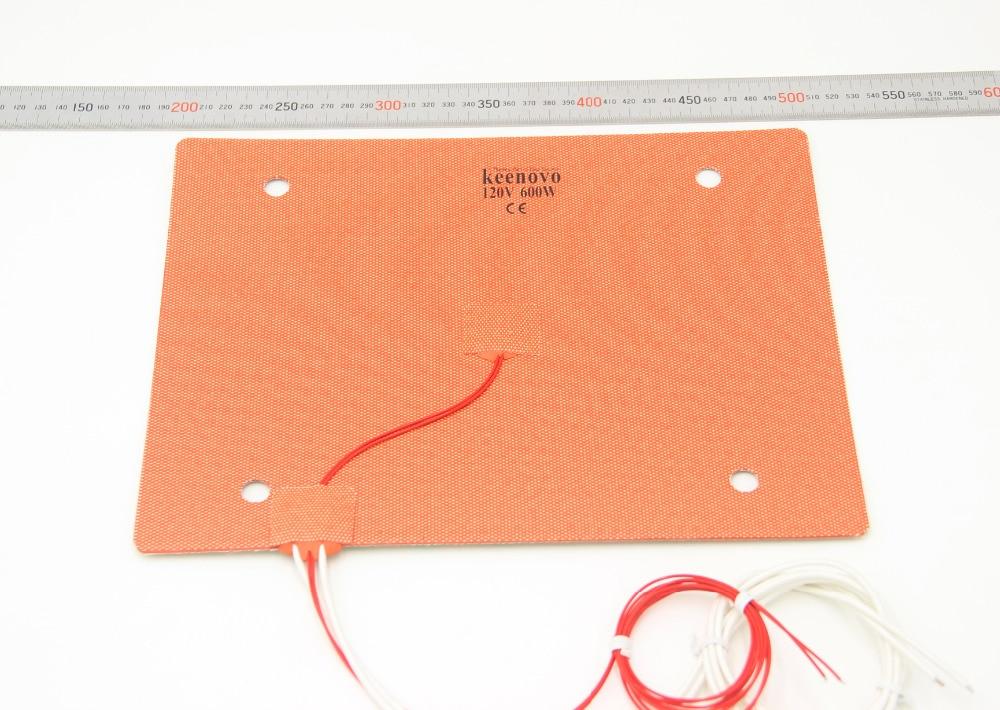 KEENOVO Silicone Heater 235x305mm for Creality CR10 MINI 3D Printer HeatedBed