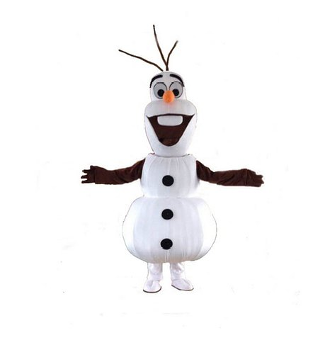 High quality Olaf mascot costume Adult size Olaf mascot costume Free shipping