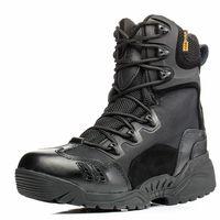 High Quality 2017 Outdoor Men Commando 07 Combat Boots Winter Desert Tactical Climbing Hiking Marines Military