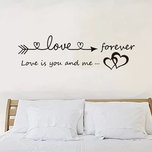 Bedroom stickers Art Decal Wall Sticker Quote Removable DIY Home Decor Mural Fashion Hobbies