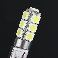 Image 3 - 2Pcs H1 12V Auto LED Car 13W 5050 13 LED  fog lamp super bright white light and driving light bulb for free transportation-in Car Headlight Bulbs(LED) from Automobiles & Motorcycles