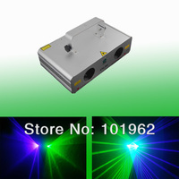 cheaper beautiful double 140mW green+violet laser stage effect laser lights party disco laser show system