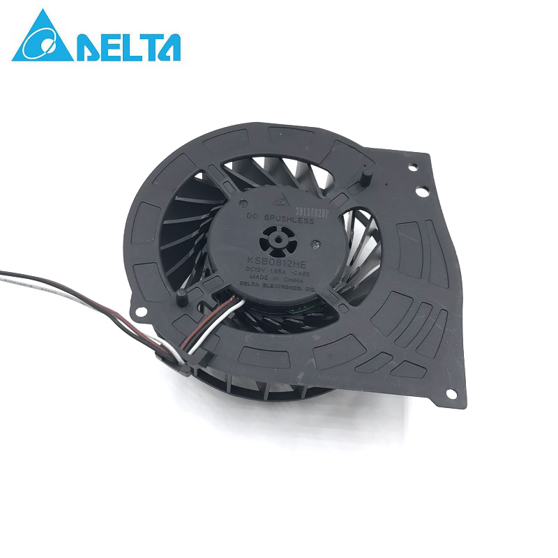 Delta KSB0812HE For Sony Playstation 3 PS3 Super Slim 4000 4K CECH-4201B Cooling Fan Brushless цена и фото