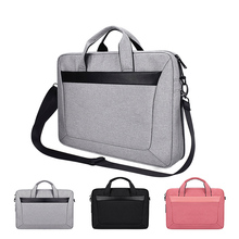 Should Strap Sleeve Case For Laptop 13 14 15 15.6 inch,Bag For Macbook Air Pro 13.3 15.4 Briefcase Handbag for Dell HP Samsung