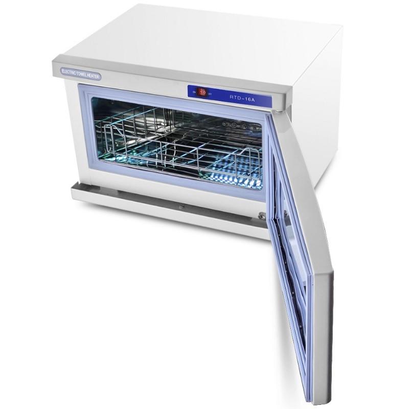 18L Manicure Towel Warmer UV Light Sterilizer Hot Cabinet - Nail Art Equipment