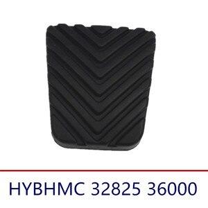 1 пара педаль тормоза сцепления Накладка для Hyundai ручная акцентная Соната SantaFe I20 I30 40 IX20 IX35 для Kia 32825-36000 3282536000