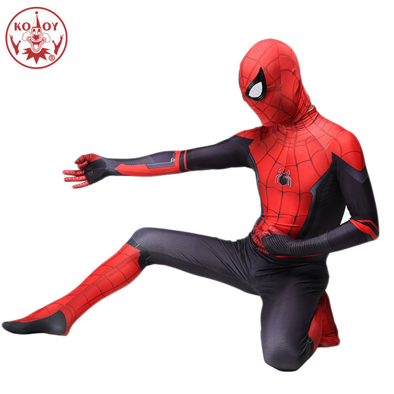 Adult Spider Man Zentai Jumpsuit Superhero Expedition Peter Parker Costumes Spiderman Halloween