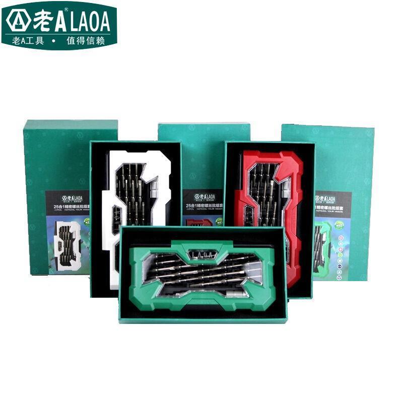 Set di cacciaviti LAOA 25 in 1 Profession Kit di riparazione in - Set di attrezzi - Fotografia 6