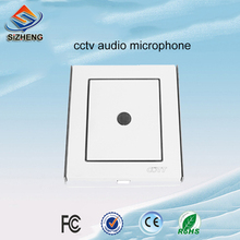 SIZHENG COTT-C6 Indoor CCTV microphone audio listening video surveillance devices -38dB sound pickup for security system
