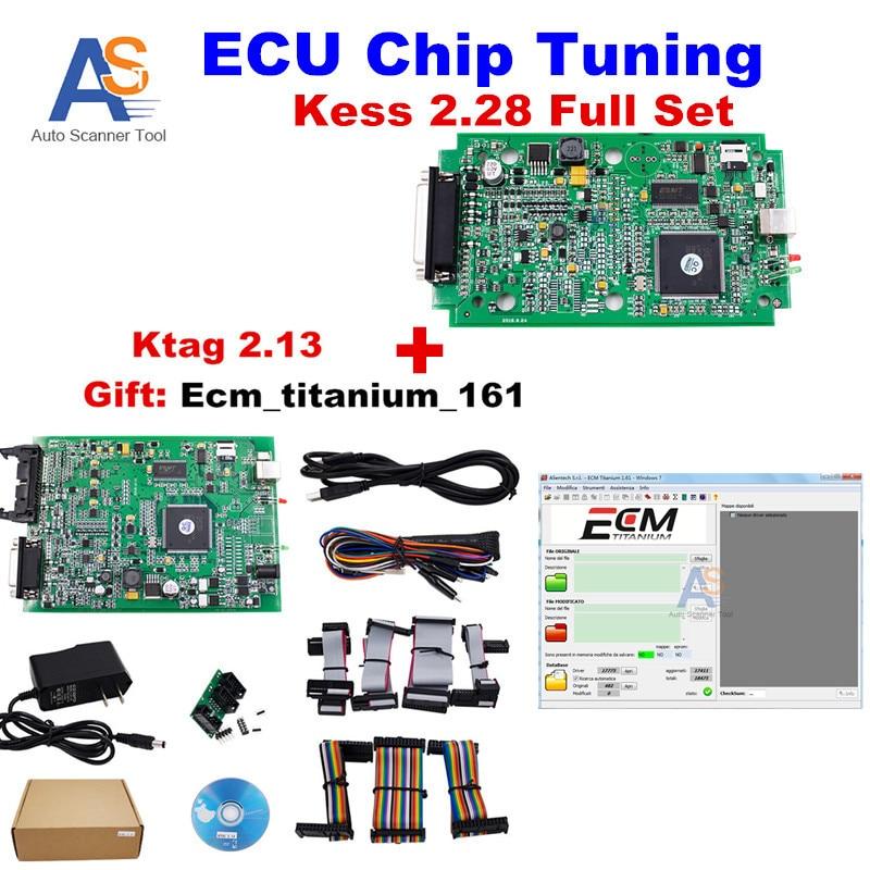 imágenes para 2017 V2.13 + V4.036 Kess ECU Chip Tuning Herramienta KTAG K TAG 2.13 FW V6.070 + Sw V2.28 FW V4.036 Sin Tokens KESS V2 limitada