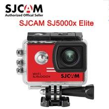 SJ5000X Elite Original SJCAM WiFi 4K 24fps 2K30fps Gyro NTK96660 Mergulho 30m À Prova D Água Ação Esportes DV 2.0 LCD câmera