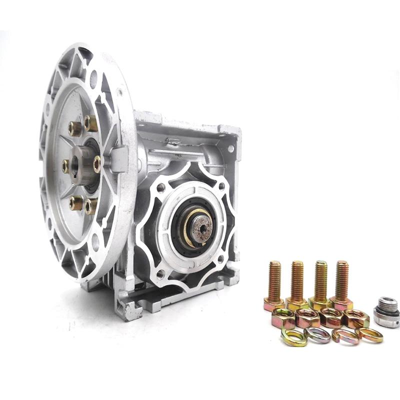 NMRV040 Worm Gear Reducer 63B14 Ratio 10 15 20 25 30 40 50 60 80 100:1 11mm
