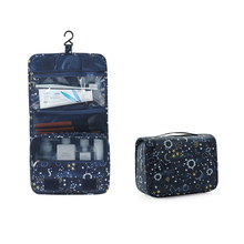 Portable Travel Storage Bag Hanging Organizer Starry Sky Toiletry Waterproof Makeup Flamingo Cosmetic
