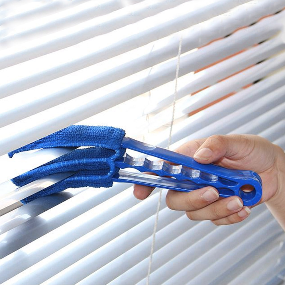 3 Pronged Venetian Blind Cleaner Cleaning Tool Brush Duster Blinds Microfibre Cleaning Brushes Aliexpress