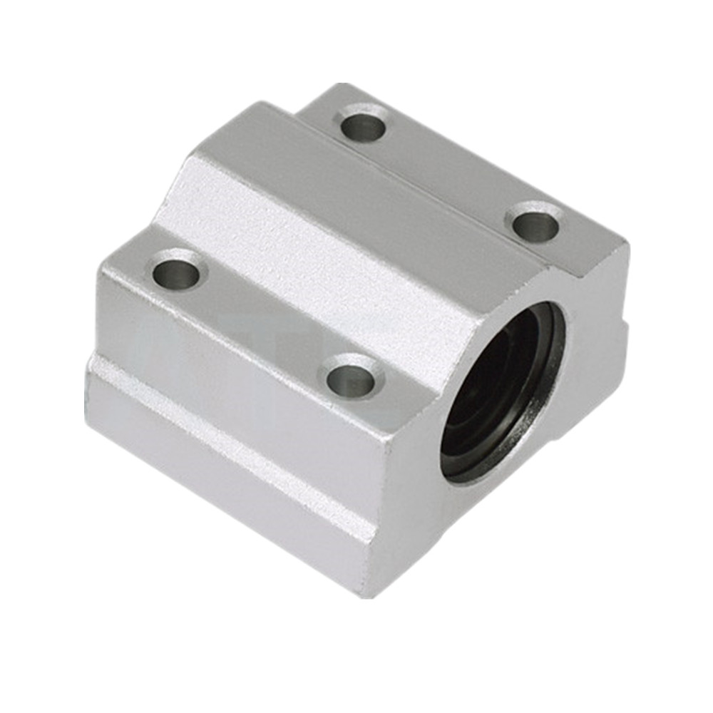 2 Pcs SK12 12mm Bore Linear Rail Shaft Support for Milling Machine T1