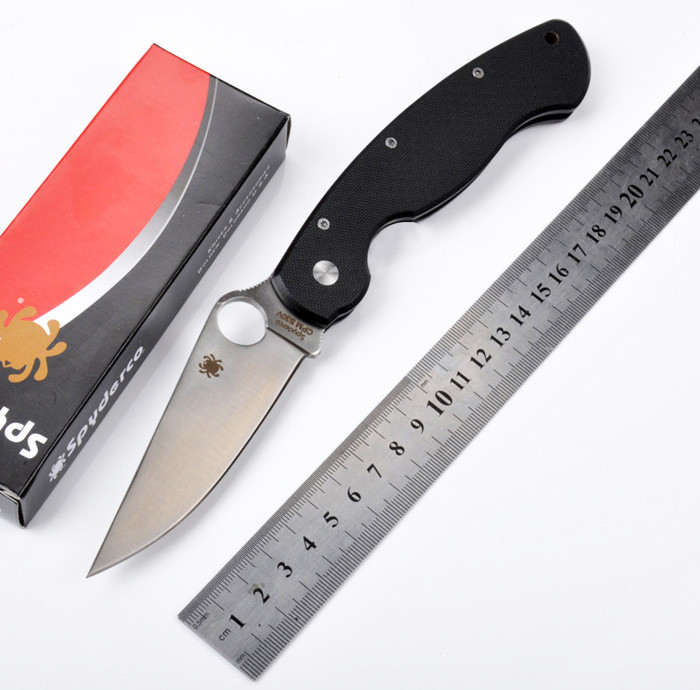 Hot selling C36 G10 handle CPM S30V blade 58HRC folding font b knife b font outdoor